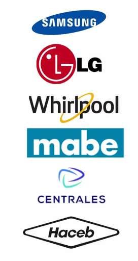 Técnicos autorizados diferentes marcas