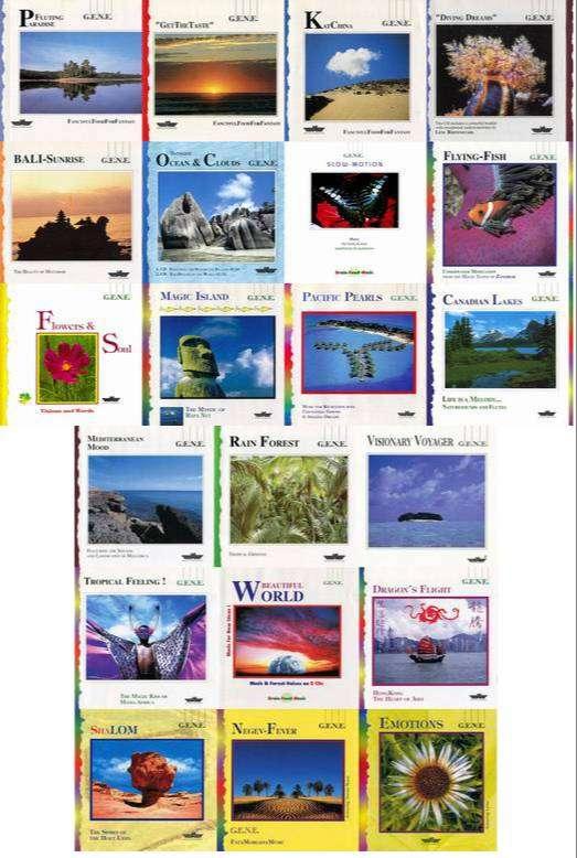 G.E.N.E. - 21 Albums