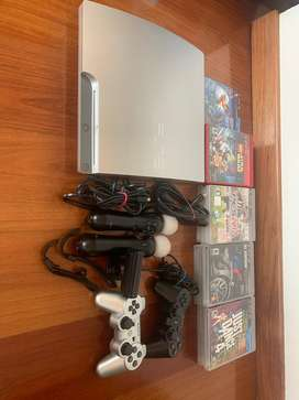 Playstation 3 Slim Silver 160GB