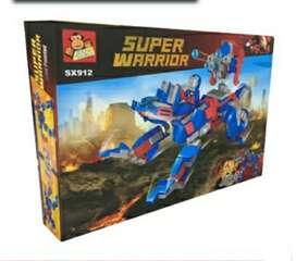 Súper Warrior lego,278 piezas