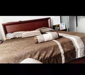 Venta de juego de sala y cama de oferta