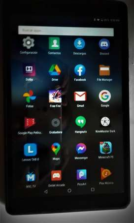 "Tablet Lenovo de 8"". 16G Interna"
