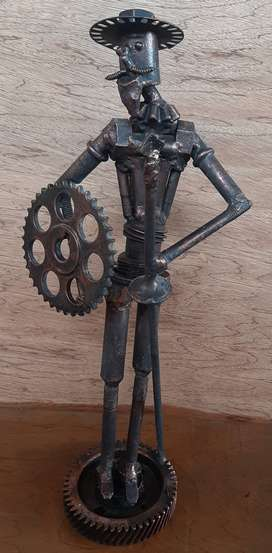 Quijote Escultura Metálica