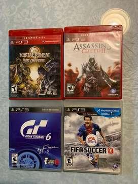 Juegos PlayStation3 $1000 por cada unidad