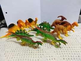 Colección de Dinosaurios medianos (11 Figuras)
