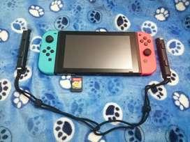 Nintendo Swith con pocos meses de uso