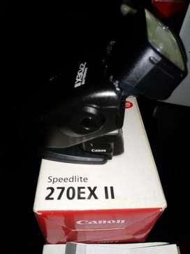 Flash Canon 270 Ex Ii vendo o cambio