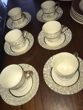 Tazas Platos de Te . Porcelana Princesa Japan . Porcelana Antigua