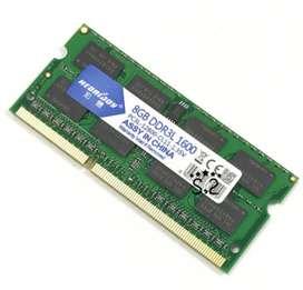 A1278 A1286 A1181 A1342 Memoria RAM 8GB 1600 DDR3L Memory Ram for Macbook Pro Memoria sdraemory Ram Memoria Sdra