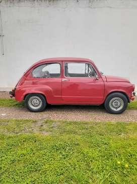 Fiat 600 mod. 1971 VTV y papeles al día OPORTUNIDAD impecable estado
