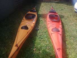 VENDO KAYAKS WEIR IMPECABLES