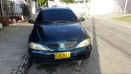 Renault megane modelo 2002 cero oxido