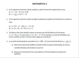 Desarrollo de Matemática 1