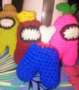 Among us al crochet