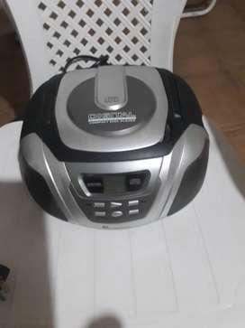 Radio/ reproductor CD, usado segunda mano  Rosario, Santa Fe