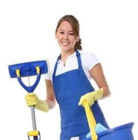 Servicio de Limpieza, Aseo o Desinfección