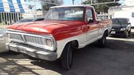 Ford f100 impecable.