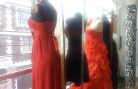 Se Vende Negocio de Alquiler de Vestidos Negociable Motivo viaje urgente