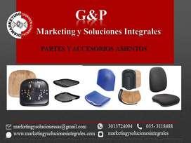 ESPALDARES PARA SILLAS DE OFICINA Y TANDEM