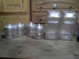 Set de frascos