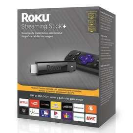Roku Streaming Stick+ 3810 4k Negro