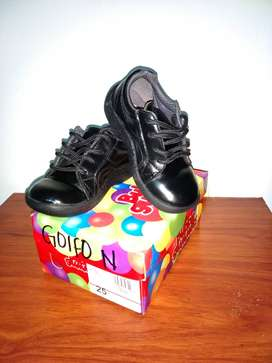 Zapatos bubble gummers negros t25