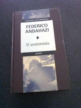 libro El anatomista de Federico Andahazi
