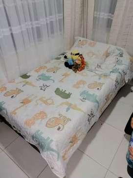 Base camas sencillas