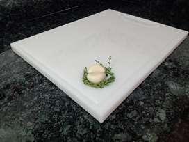 Tabla Corte y picar tipo Chef profesional y el Hogar para Hogar plástica con espesor 12 mm