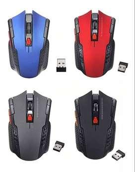 Mouse Gamer Inalámbrico Con Receptor Usb Hot Mini 2,4 Hhz
