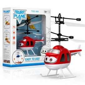 Mini helicóptero con sensor de proximidad