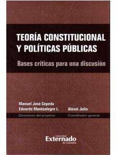 TEORÍA CONSTITUCIONAL Y POLÍTICAS PUBLICAS *oferta*
