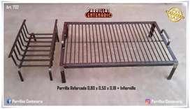 Art. 732  PARRILLA FIJA REFORZADA  INFIERNILLO