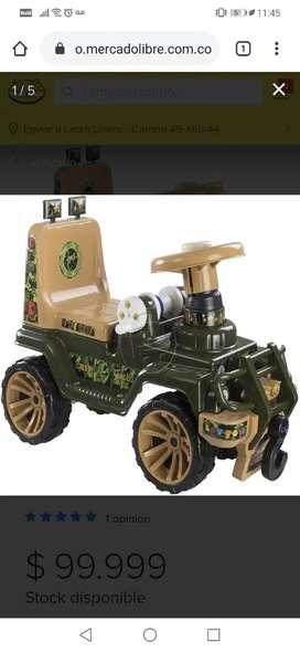 Jeep montable