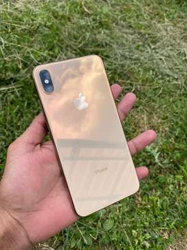 IPhone XS Max gold Unico dueño 10-10