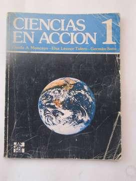 LIBRO CIENCIAS EN ACCIÓN 1 usado