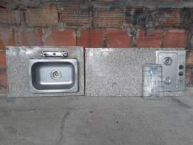 Meson estufa lavaplatos