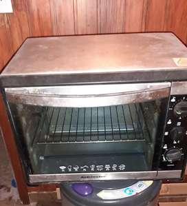 Horno electrico nuevo Kelvinator grill espiedo bandeja