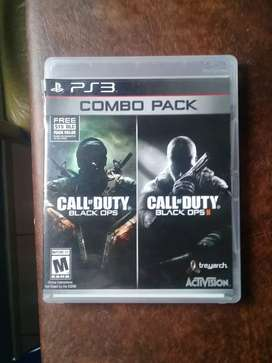 Call of Duty Black ops I y II Play Station 3