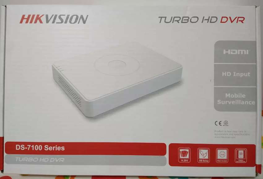 DVR TURBO HD HIKVISION DS-7116HGHI- F1 16CH 720HD 0
