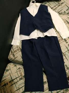 Traje Para Niños Camisa  Pantalon  Chaleco