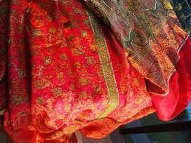Saris de india bordados sedas