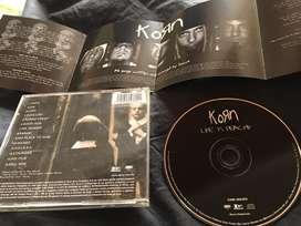 Vendo CD Korn Life is Peachy Original