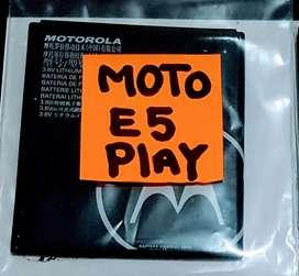 VENDO BATERIA MOTO E5 PLAY ORIGINAL