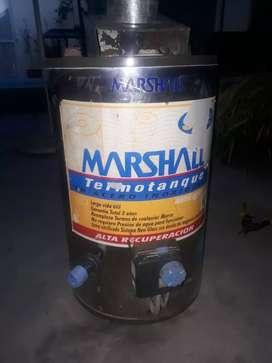 Vendo termotanque marca  marshal