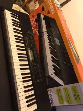 Teclado organo electronico casio ctk2300