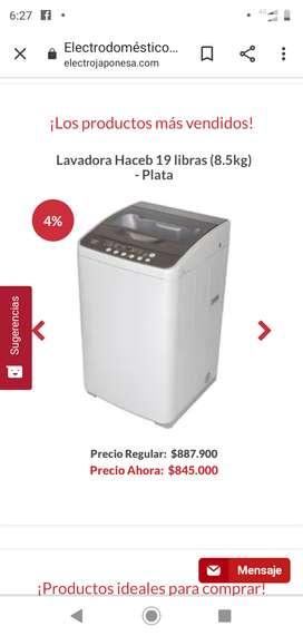 Venta de lavadora Haceb nueva