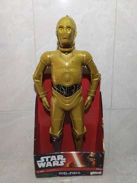 Figura STAR WARS C-3PO de la línea Big Figs NUEVA