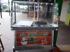 Venta de máquina de helado a la plancha o en rollo