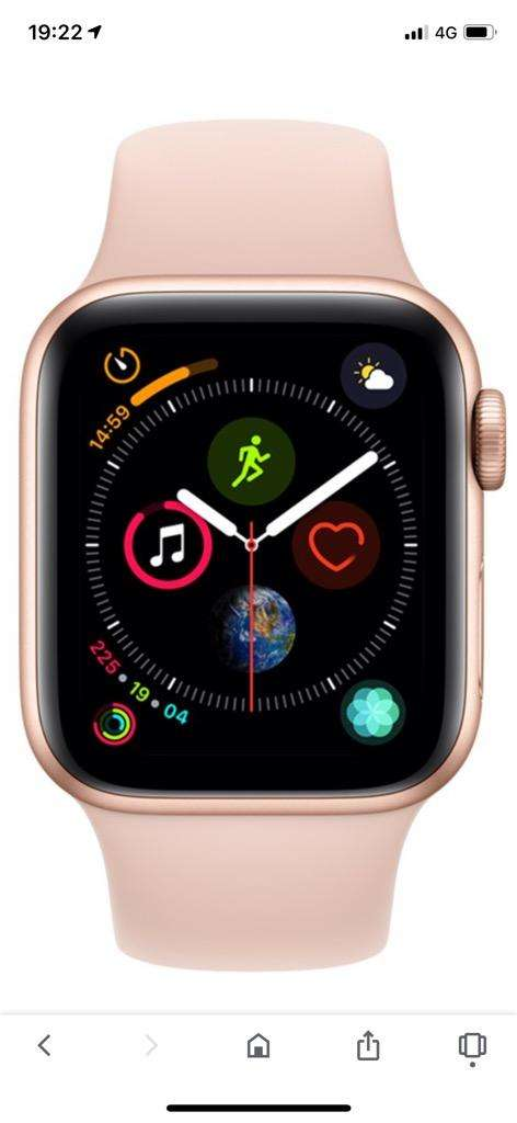 iWatch 4 40Mm Gold Gps 0